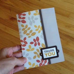 2014 November Thank You Card to Clients